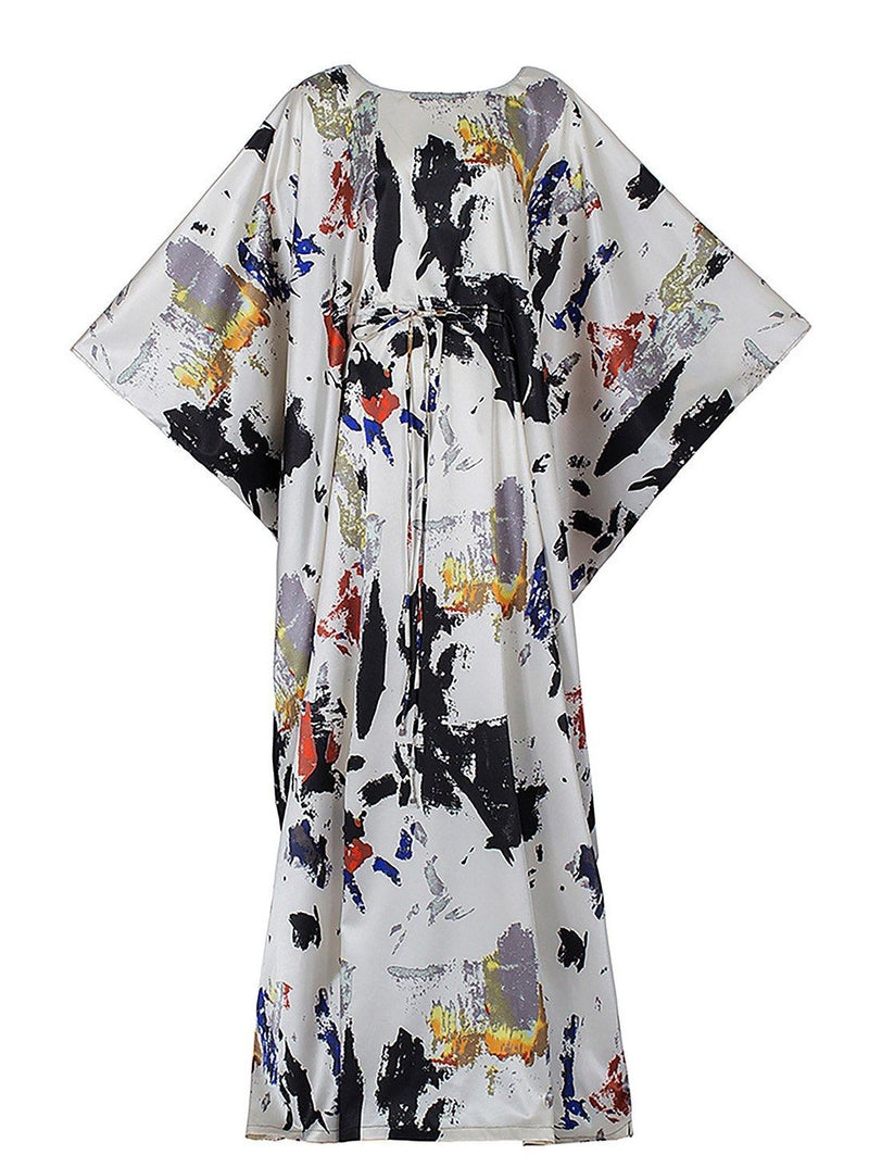 Princess of China Tie Dye Maxi Dress Clothing m-usefashion