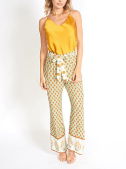 VALERIA FLORAL BOHEMIAN HIGH WAIST COTTON PANTS Clothing m-usefashion