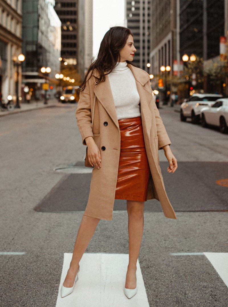 Serena Double Breasted Trench Coat Clothing m-usefashion