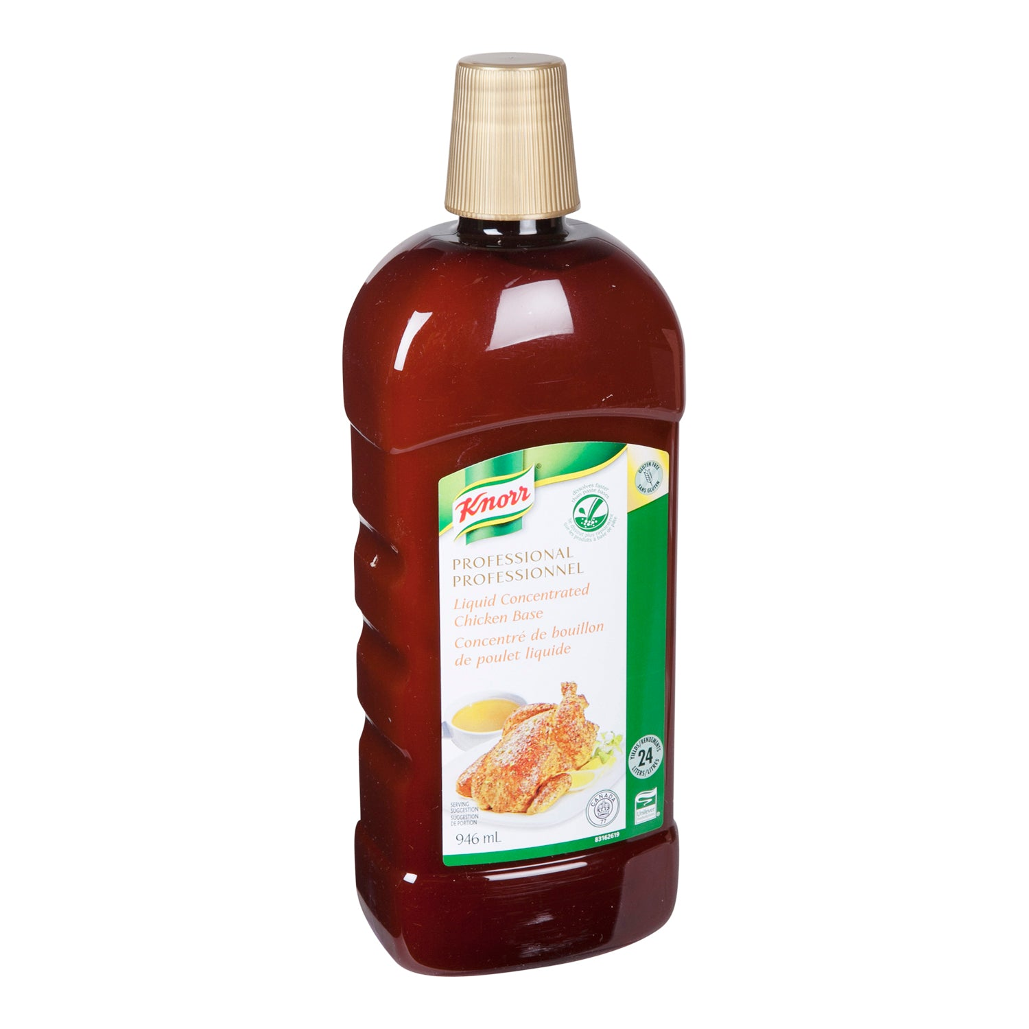 Knorr Professional Liquid Concentrated Chicken Base 946 ml - 4 Pack [$17.50/each]