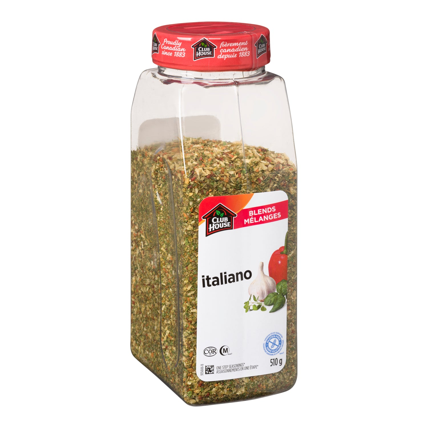 Club House Italiano Seasoning 510 g - 1 Pack [$17.78/each]