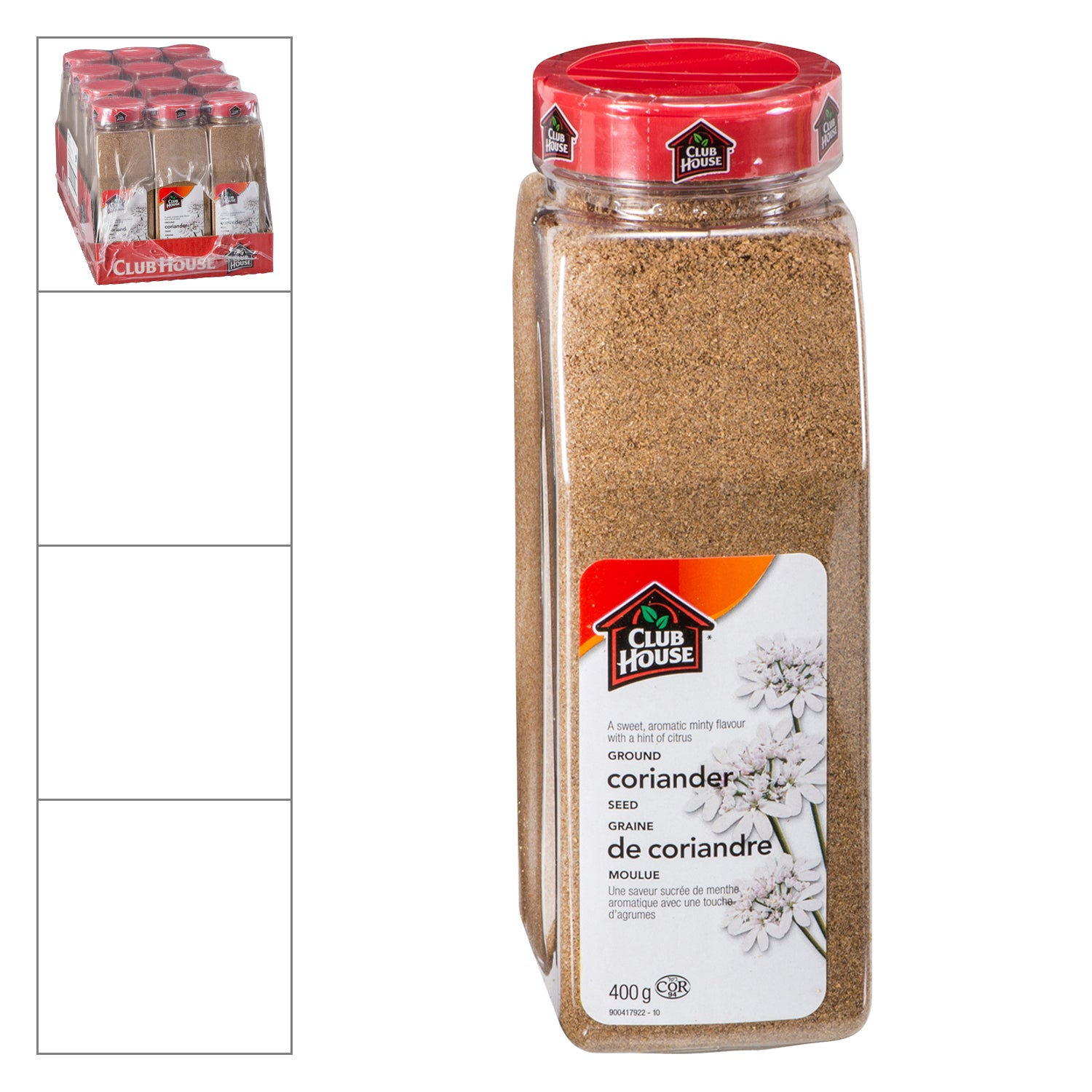 Club House Ground Coriander 400 g - 1 Pack [$9.19/each]