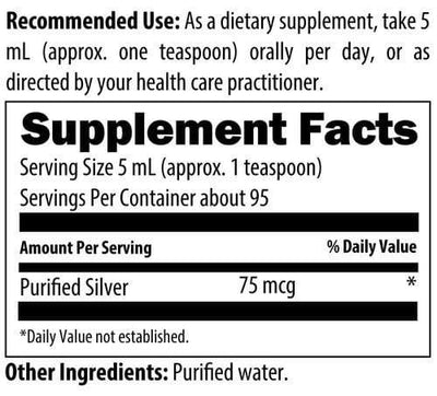 Silvercillin 16oz - NuVision Health Center