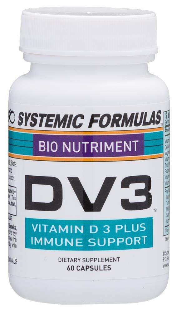 Systemic Formulas DV3 - D3 + K2 - NuVision Health Center