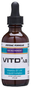 Systemic Formulas VitD3 LQ - NuVision Health Center
