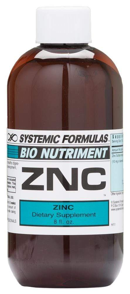 Systemic Formulas ZNC - Zinc Chelate - NuVision Health Center