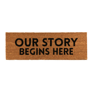 DOOR MAT - OUR STORY
