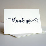 Thank You Card-Navy