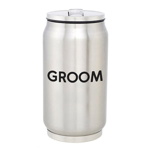 STAINLESS STEEL CAN - GROOM