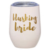 12OZ WINE TUMBLER - BLUSHING BRIDE