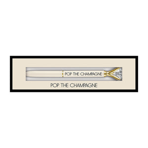 BOXED GEM PEN - CHAMPAGNE