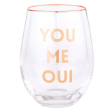 WINE GLASS - YOU ME OUI