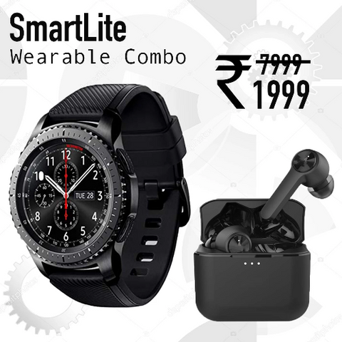 SmartLite Gear 4G Smart Watch + TWS Wireless EarPods | 1 Yr Warranty