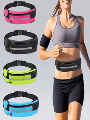 New Running Waist Bag Waterproof
