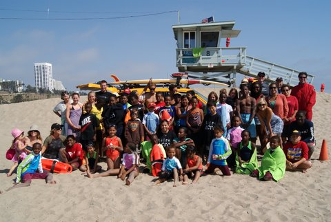 Baywatch Camp for Kids-group picture