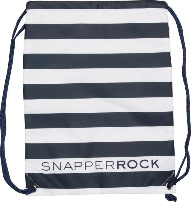 Swim Bag Navy/White Stripe