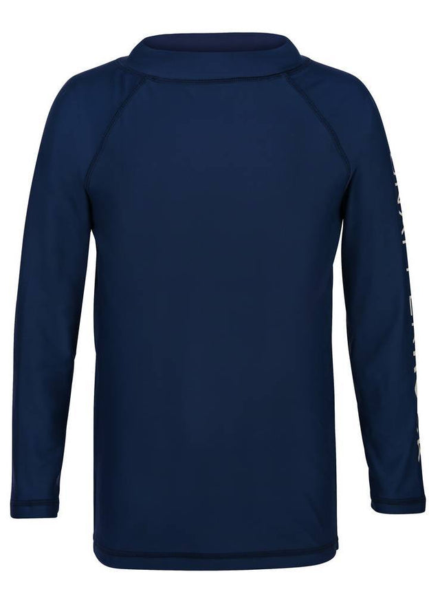 Navy LS Rash top SR Sleeve