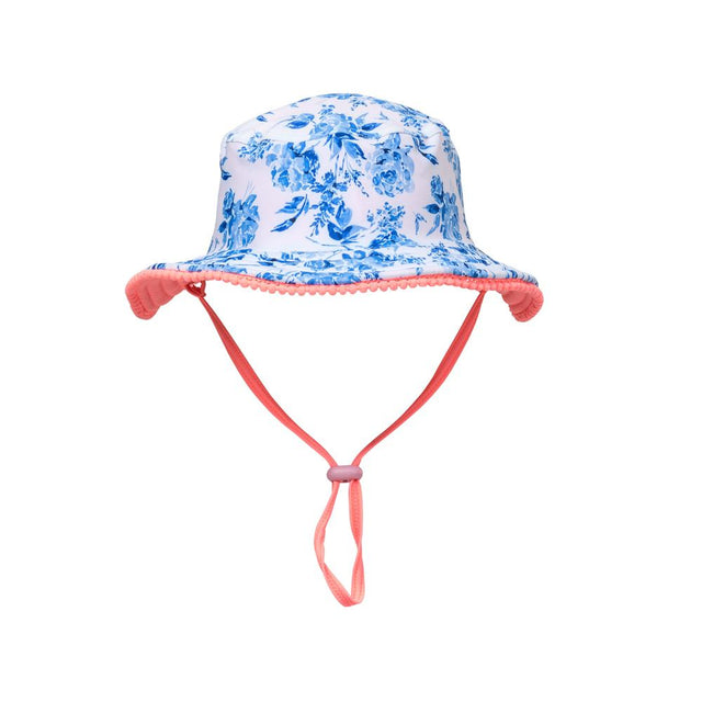 Cottage Floral Reversible Bucket Hat