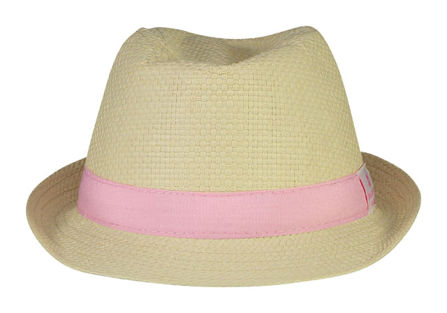 Girls Pink Fedora
