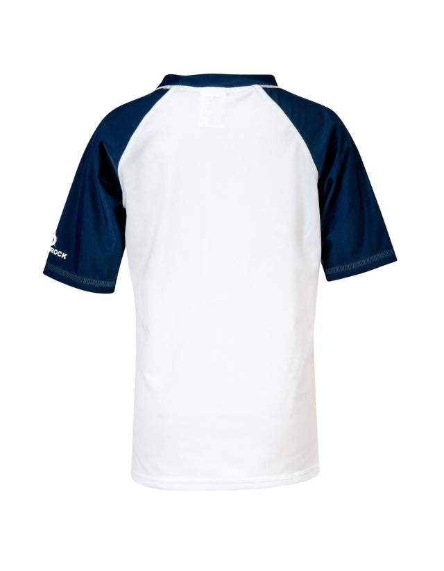 White Ocean Explorer SS Rash Top