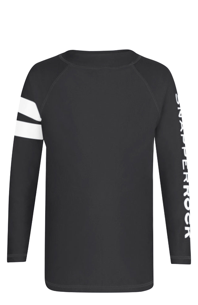 Slate Arm Band Long Sleeve Rash Top