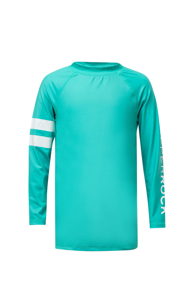 Mint Arm Band LS Rash Top