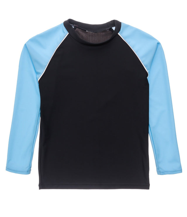 Slate Lt Blue Sleeve LS Rash Top