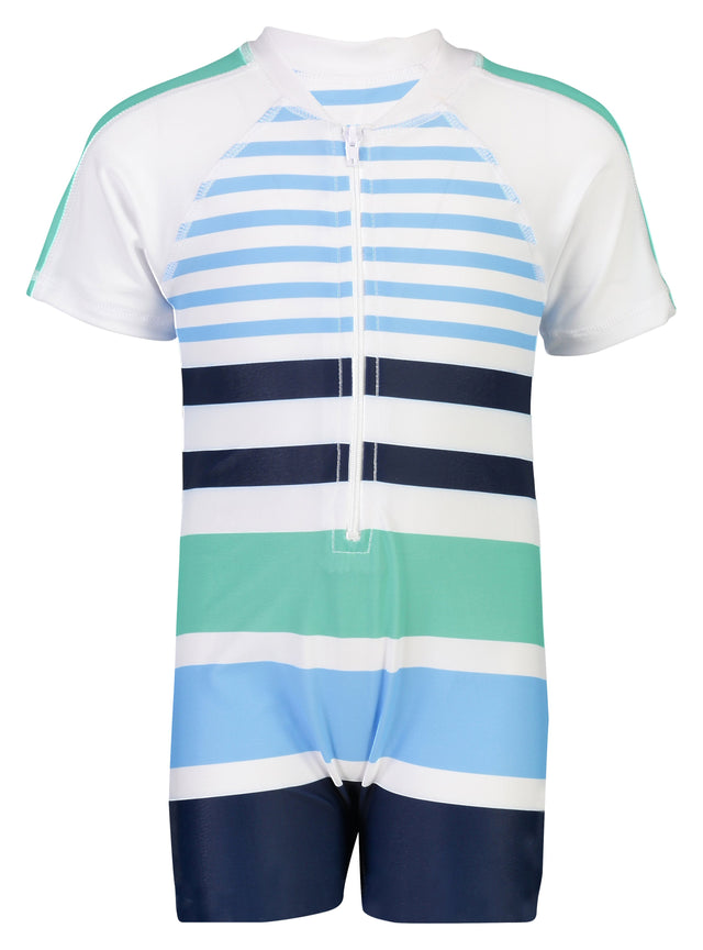 Compass Stripe SS Sunsuit