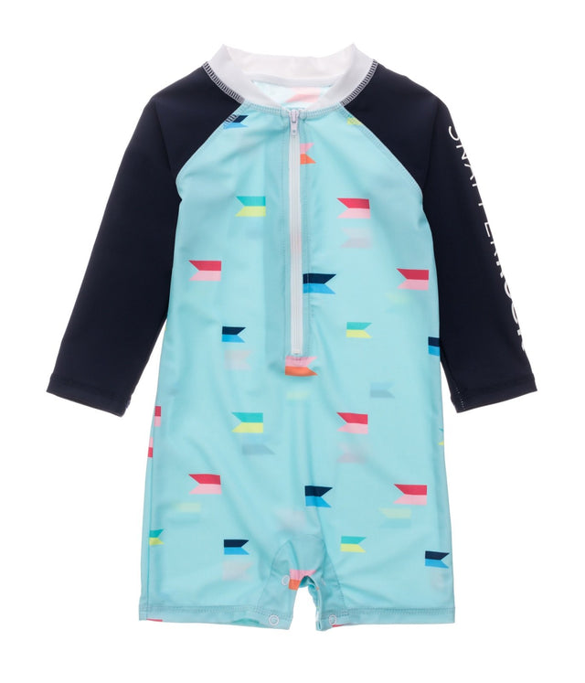 Maritime Fliers LS Sunsuit