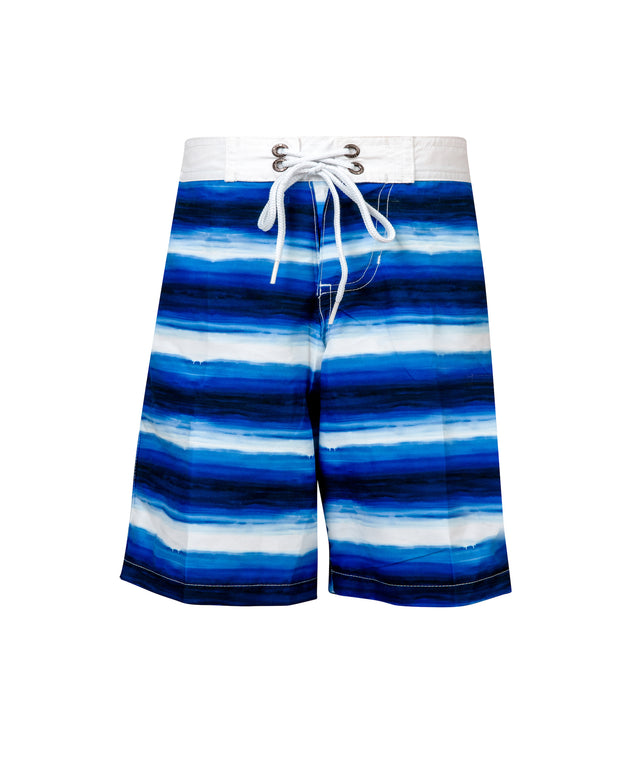 Boys Ombre Stripe True Boardie
