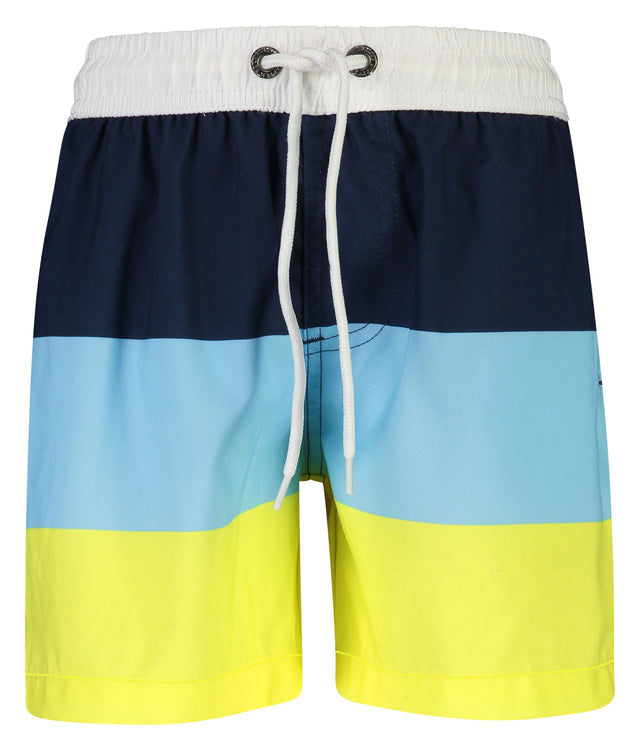 Blue /Yellow Block Stripe Boardies