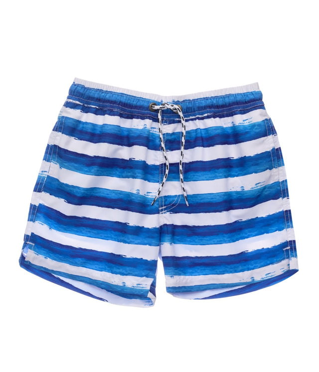 Sunset Stripe Volley Board Short