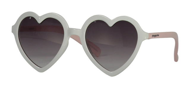 White Heart Sunglasses