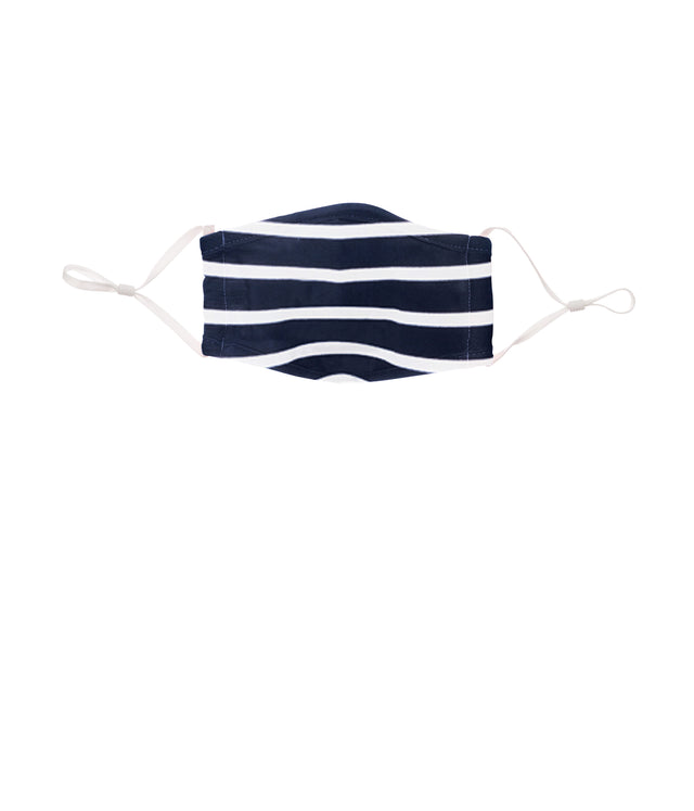 Face Mask Kids Swordfish & Nautical Stripe 2 pack