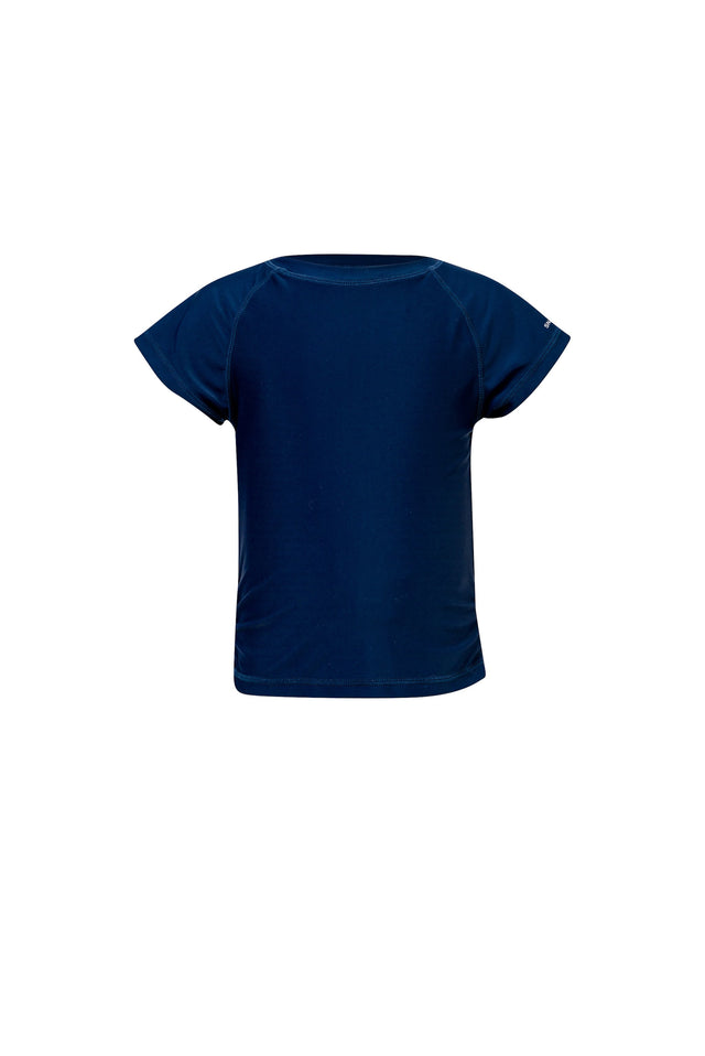Navy Short Sleeve Rash Top