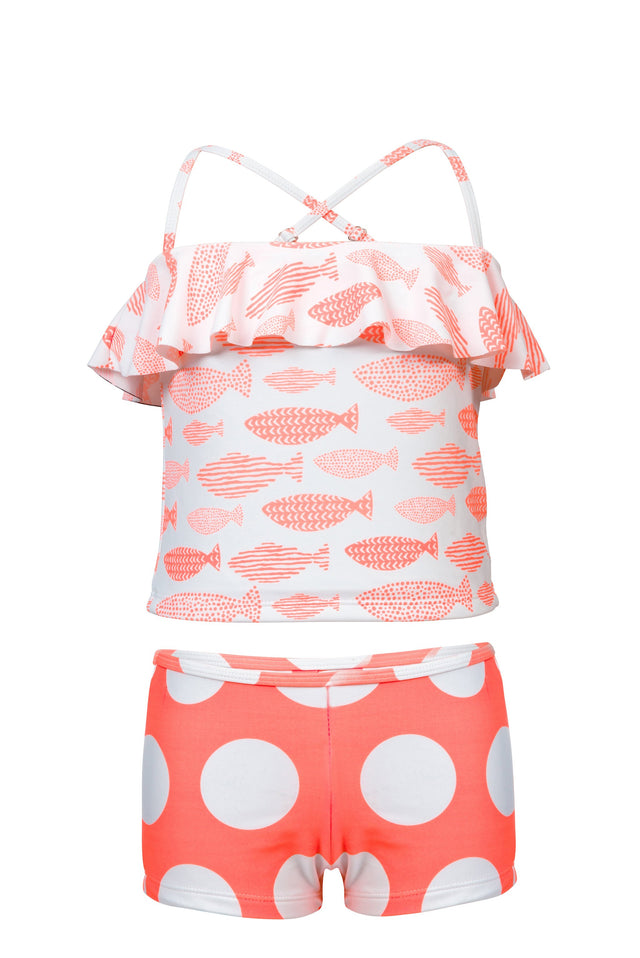 Spotty Fish Tankini