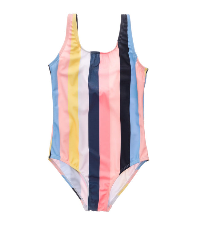 Opti Stripe Scoop Swimsuit
