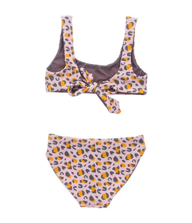 Leopard Love Reversible Surf Bow Bikini