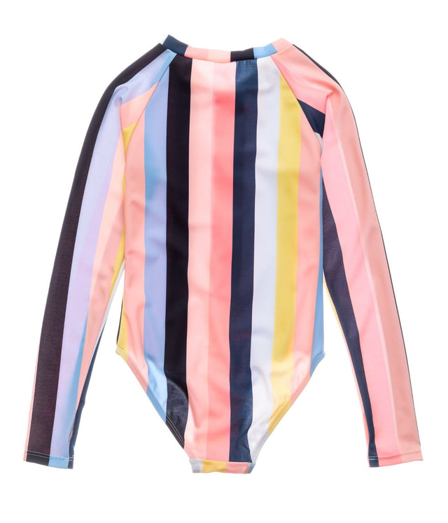 Opti Stripe LS Surf Suit