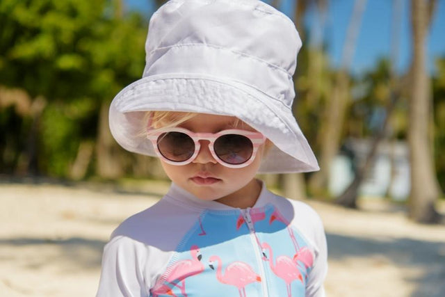 Flamingo Social LS Sunsuit