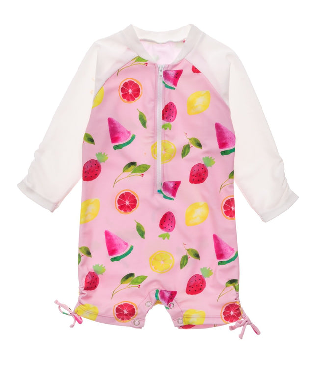 Fruit Fiesta LS Sunsuit
