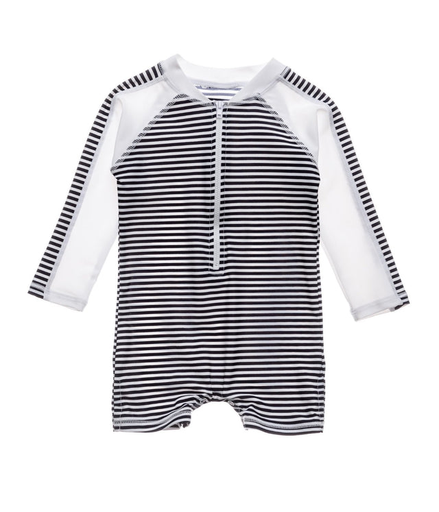 Nautical Stripe LS Sunsuit