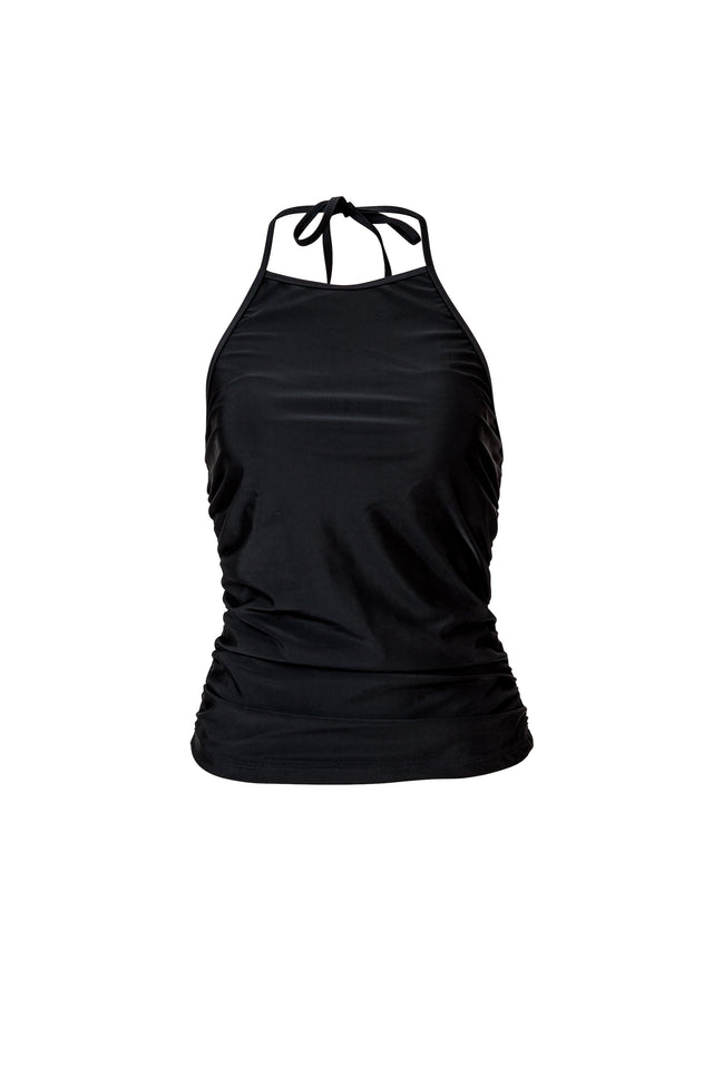 Ladies Black Tankini Top