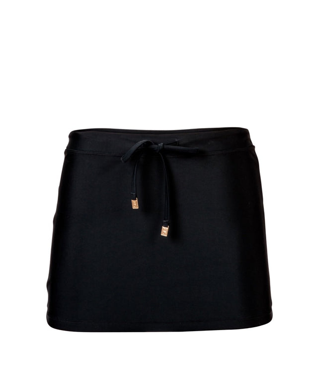 Ladies Black Swim Skirt