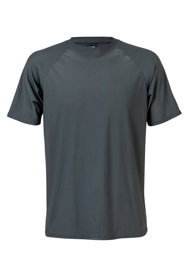 Men's Slate SS Rash Top