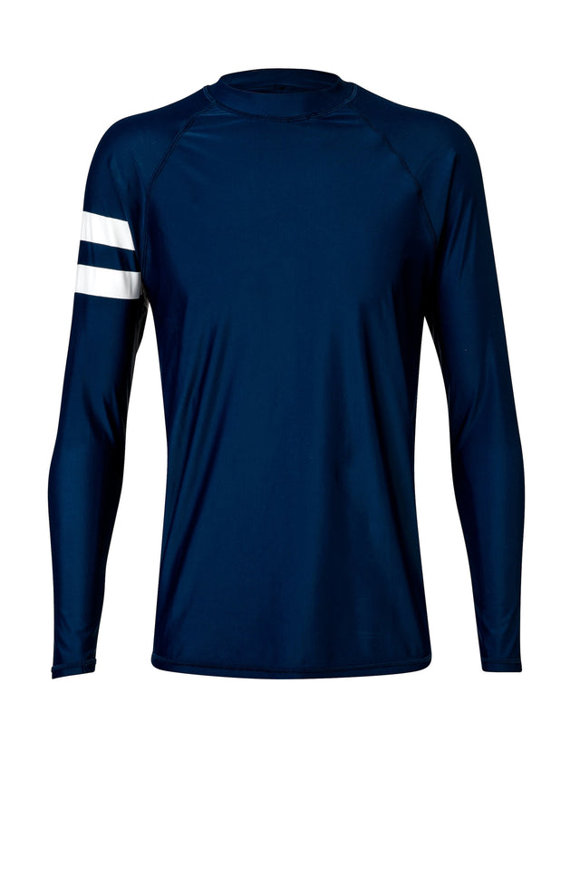 Men's Navy Long Sleeve Rash Top