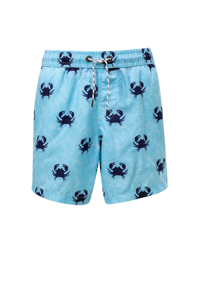 Mens Blue Crab Boardies