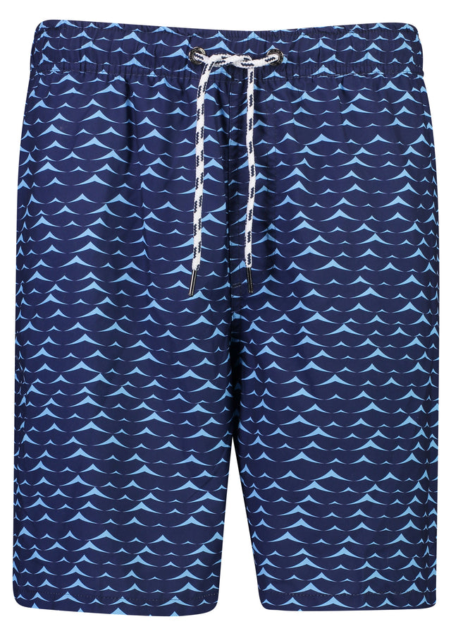 Mens Blue Swell Boardies