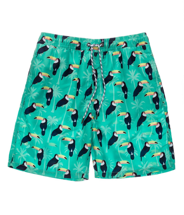 Mens Toucan Talk Volley Board Short
