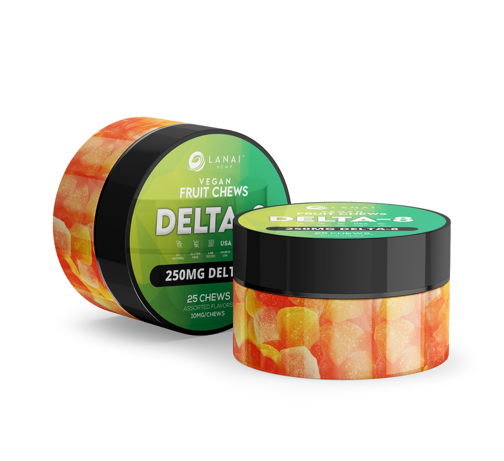 Delta-8 Infused Fruit Chews (NEW!)